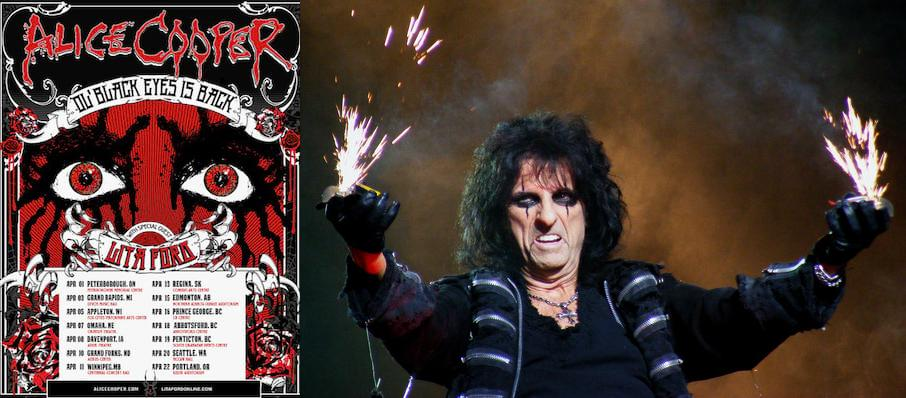 Alice Cooper at Stranahan Theatre