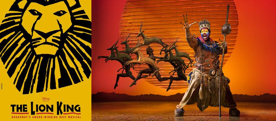 The Lion King at Stranahan Theatre