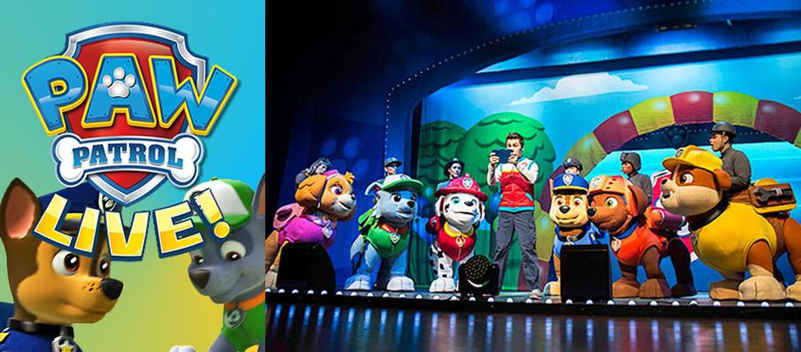 Paw Patrol at Stranahan Theatre