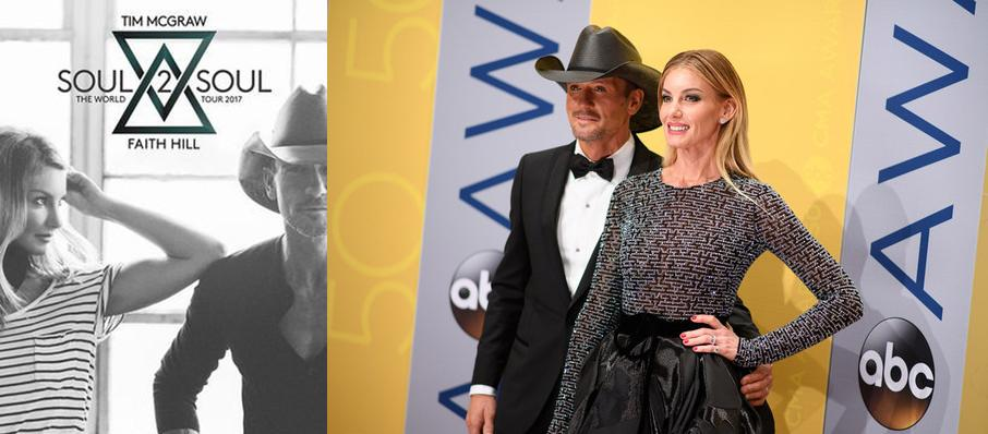 Tim McGraw and Faith Hill at Huntington Center