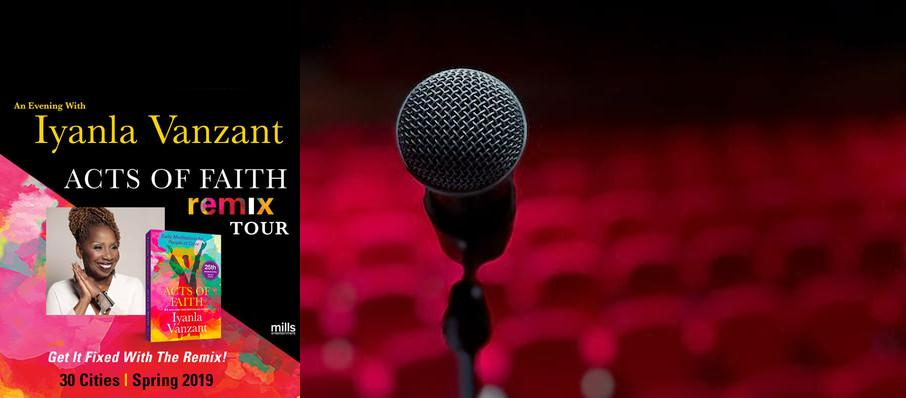 Iyanla Vanzant at Stranahan Theatre