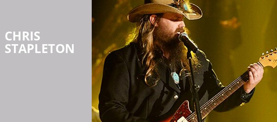 Chris Stapleton, Huntington Center, Toledo