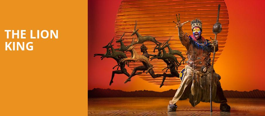 The Lion King, Stranahan Theatre, Toledo