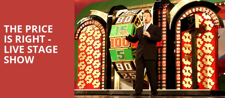 The Price Is Right Live Stage Show, Stranahan Theatre, Toledo